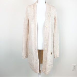 Zara Knit long sleeve duster cardigan